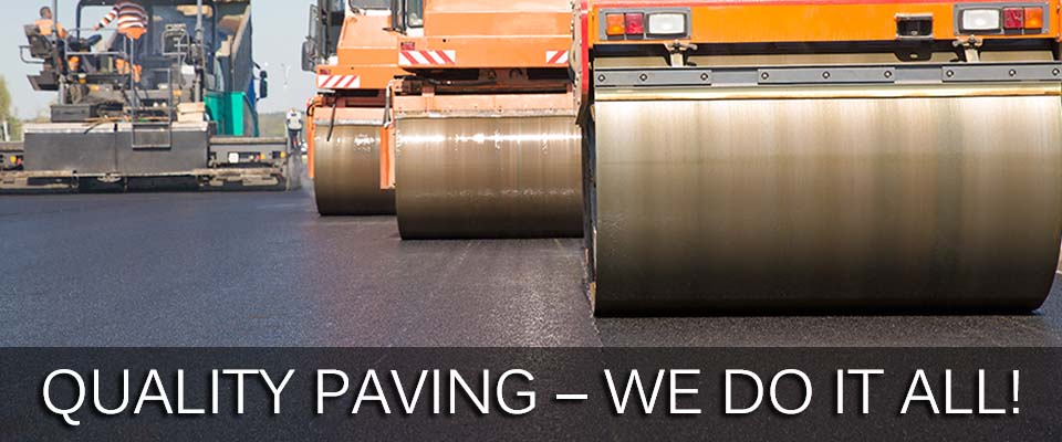Quality Paving – We Do It All!