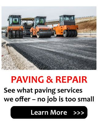 See what paving services we offer – no job is too small